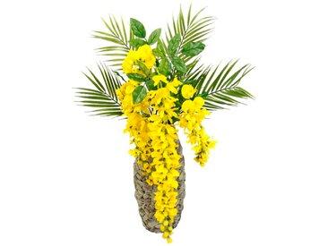 Kunstblume Palmzweige in Vase