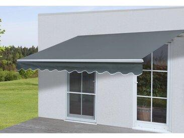 450 cm B x 300 cm T ausfahrbare Terrassenmarkise Elsea