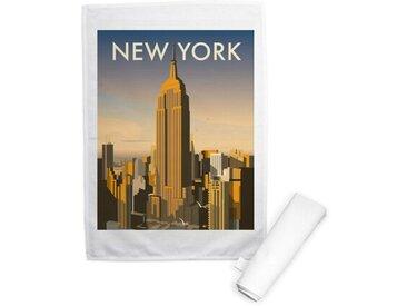 Geschirrtuch New York Skyline, USA