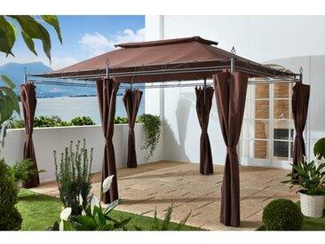 400 cm x 300 cm Terrasse Holl aus Stahl