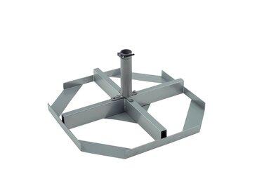 Freistehender Schirmständer Telestar aus Stahl