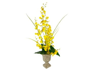 Kunstblume Orchidee in Vase