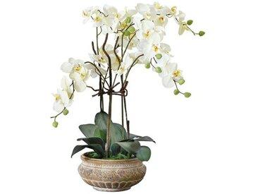 Kunstblume Orchidee im Topf