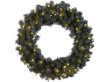 Weihnachtskranz 66,5 cm mit Beleuchtung