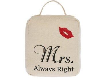 Türkeil Mrs. Always Right aus Stoff