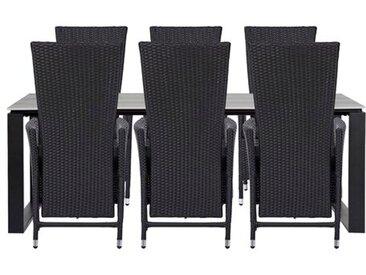 6-Sitzer Ludovika Gartengarnitur