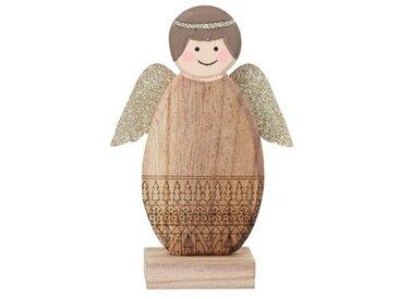 Figur Engel mit Glitzerflügeln