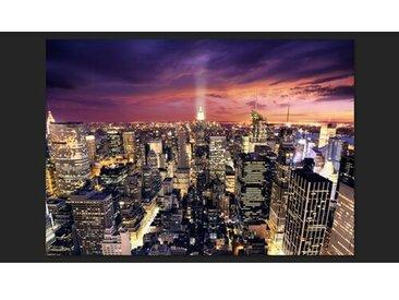 Fototapete Evening in New York City 245 cm x 350 cm