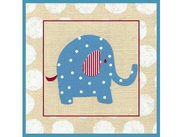 Leinwand Kathrins Elefant