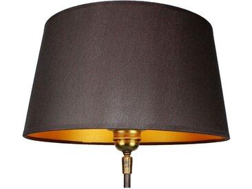 30 cm Lampenschirm aus Seide/Shantung