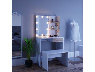 Schminktisch-Set Dekos mit Spiegel