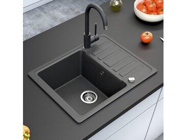 1 Becken Einbau Küchenspüle Daramannivong