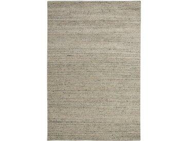 Bober Handgefertigter Teppich aus Wolle in Cremeweiß
