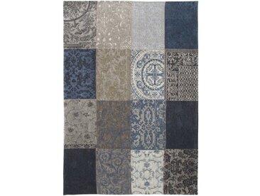 Teppich Vintage in Blau