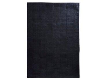 Teppich Fender aus Kuhfell in Schwarz