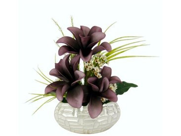 Kunstblume Magnolie in Vase