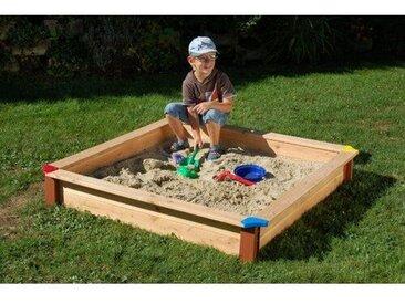 Quadratischer Sandkasten