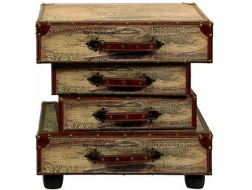 Beistelltisch Suitcase mit Stauraum Foxdale