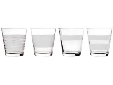 4-tlg. Whiskyglas-Set