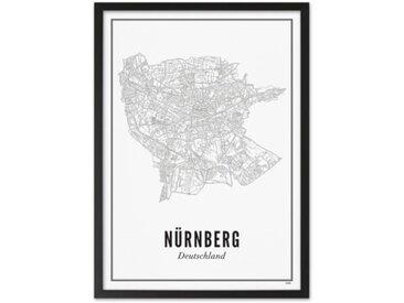 Gerahmtes Poster Stadt