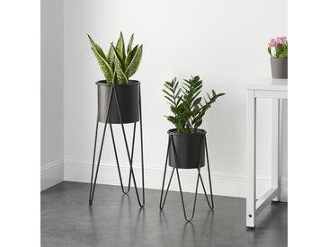 2-tlg. Pflanzenständer-Set Bondurant