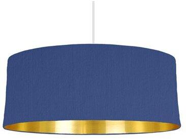 20 cm x 20 cm H Trommelförmiger Lampenschirm aus Baumwolle