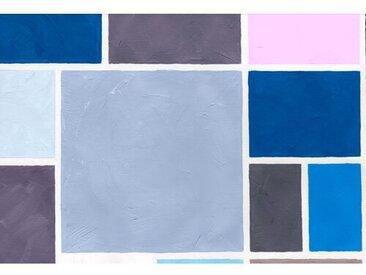 Wandbehang Poudrees Bleue