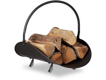 Holzkorb Isaias aus Stahl