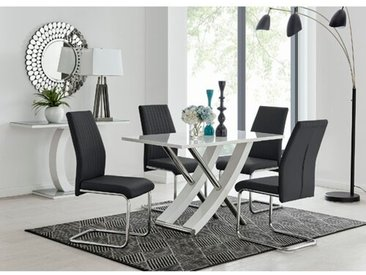 Leann Essgruppe mit 4 Stühlen