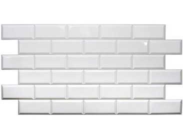 48,4 cm x 96,6 cm Mosaikfliese Aluino aus PVC