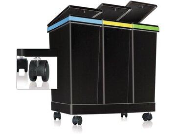 63 L Abfall- und Recyclingeimer Casson mit Touch-Deckel