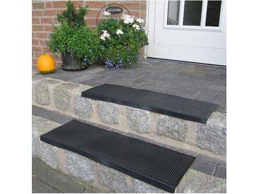 Stufenmatte-Set in Schwarz