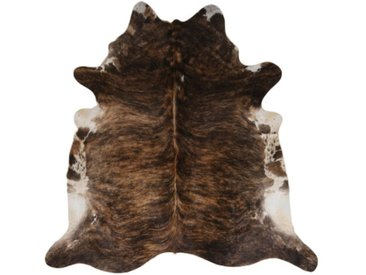 Teppich Allis aus Kuhfell in Braun