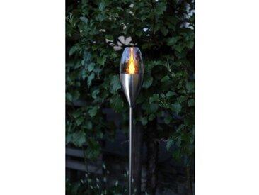 Solarbetriebene Bodensturmlampe Deen