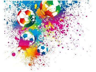 Fototapete Football Splash