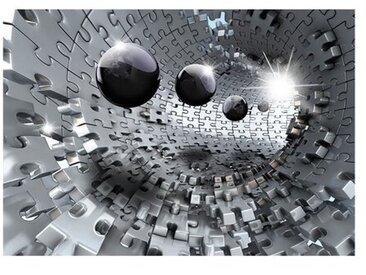 Fototapete Puzzle Tunnel