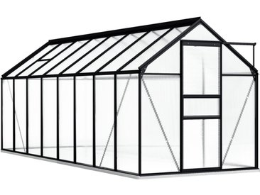 190 cm x 490 cm Gewächshaus Rideau