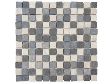 30 cm x 30 cm Mosaikfliesen-Set Hackler aus Marmor