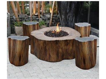 Tisch mit Feuerstelle Aragaz