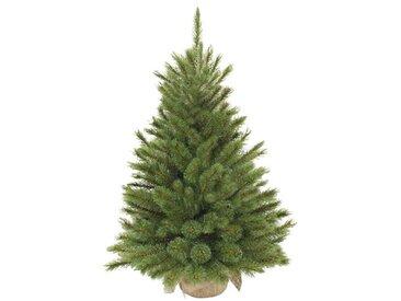 Künstlicher Weihnachtsbaum 61 cm Grün mit Ständer
