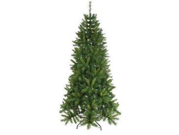 Künstlicher Weihnachtsbaum in Grün mit Ständer