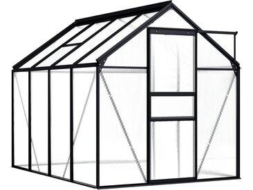 190 cm x 250 cm Gewächshaus