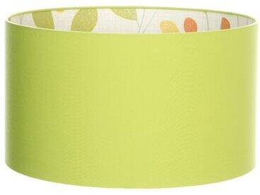 Zylinderförmiger Lampenschirm Chartreuse with Isla aus Baumwolle