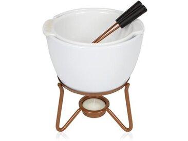 Fondue-Set Chocowares aus Edelstahl
