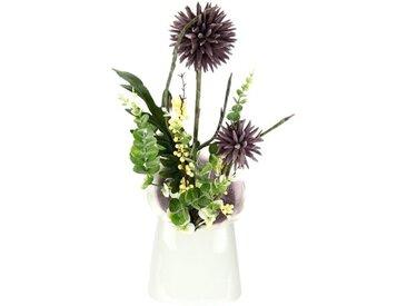 Kunstpflanze Distel in Vase