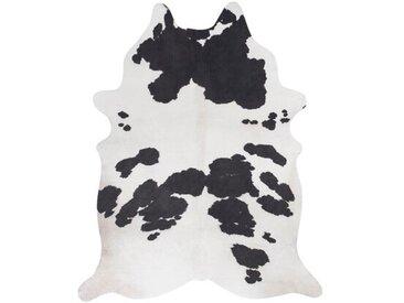 Teppich Amarillo aus Kuhfell in Schwarz/Weiß