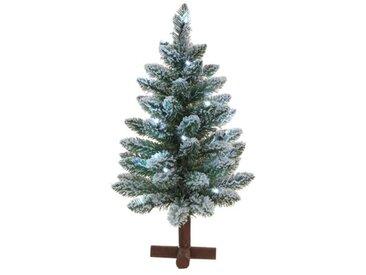Künstlicher Weihnachtsbaum 61 cm Grün mit 20 bunten Leuchten