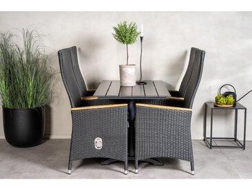 4-Sitzer Gartengarnitur Denver mit Polster