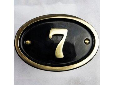 25,4 cm Wandbefestigte Hausnummer Tyrinia