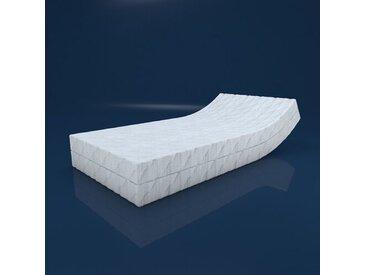 Taschenfederkernmatratze, Clear Ambient, 7-Zonen, 21 cm Höhe, 2 Schichten